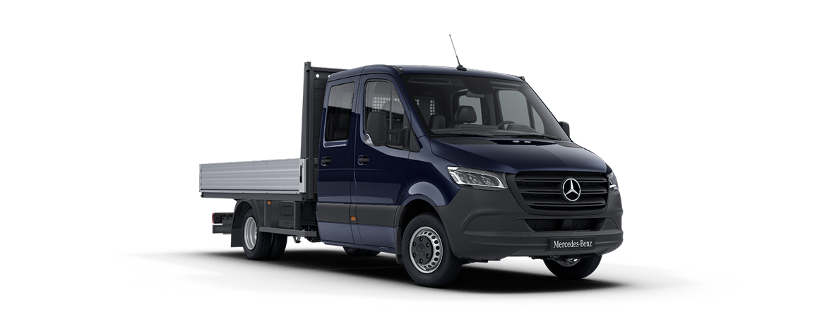 Sprinter Platform Vehicle, cavansite blue