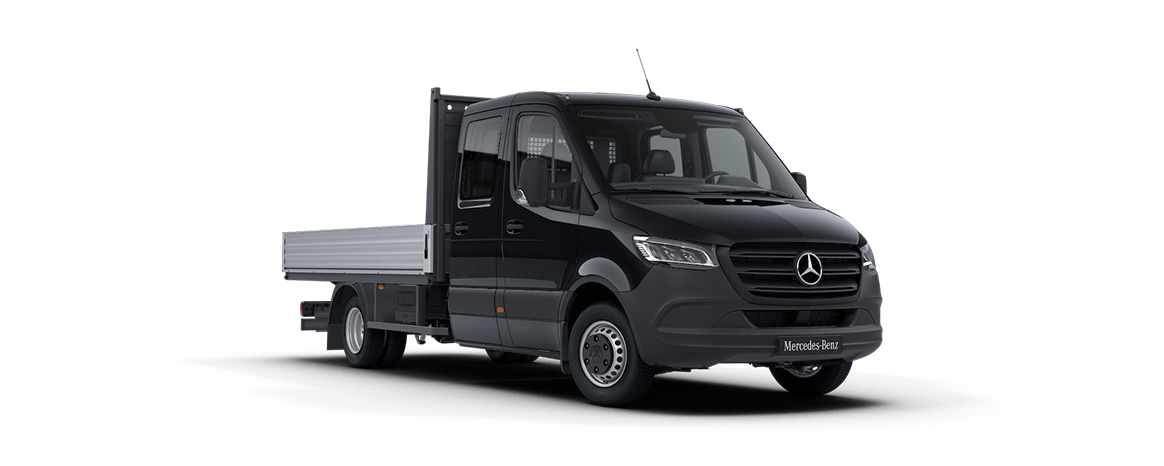 Sprinter Platform Vehicle, obsidian black