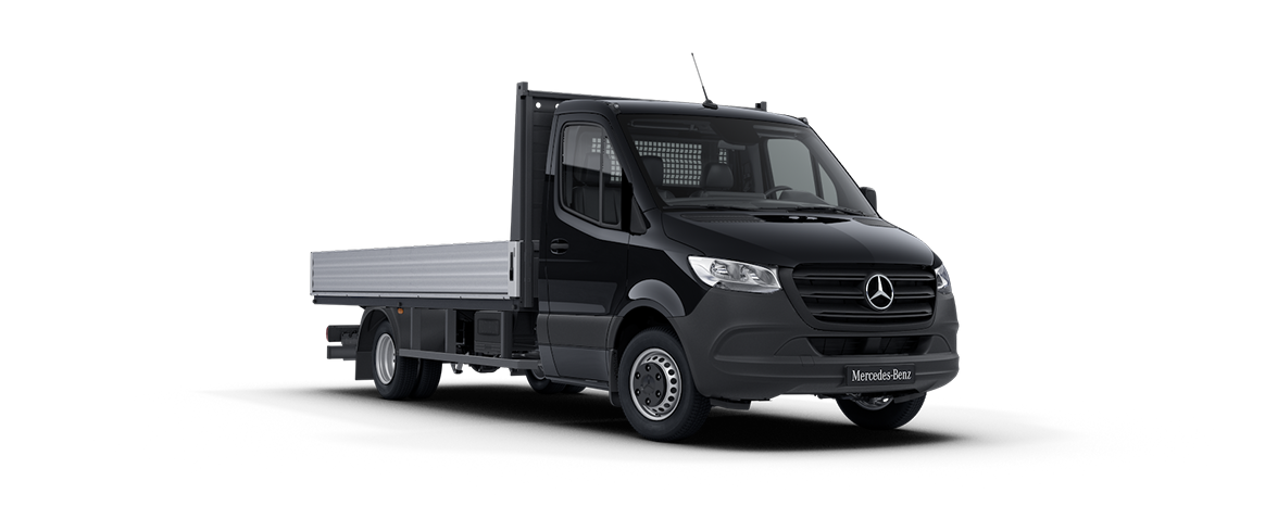 Sprinter Platform Vehicle, jet black