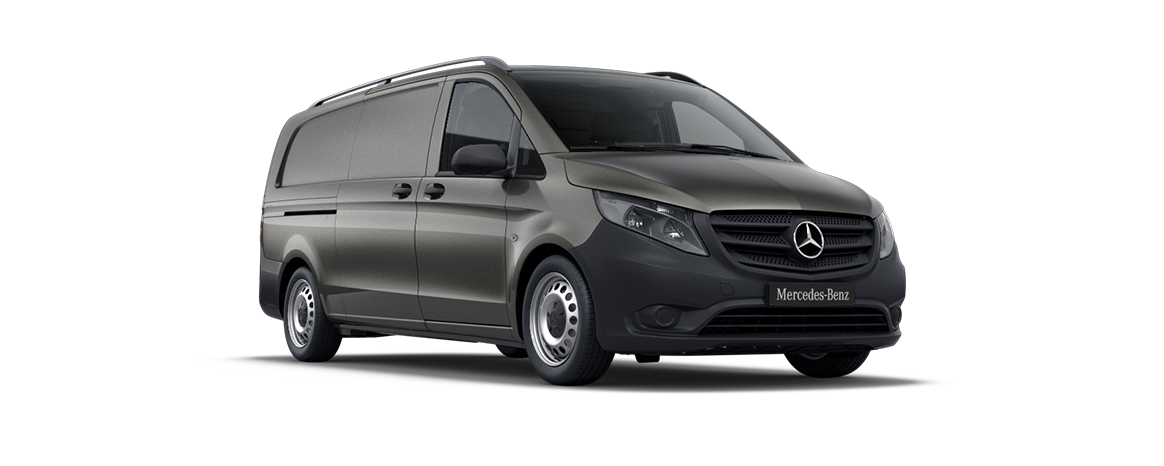 Vito panel van, indium grey