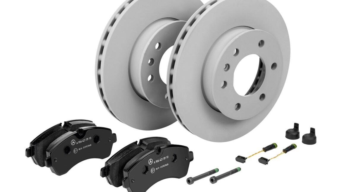 Mercedes-Benz Genuine Brakes