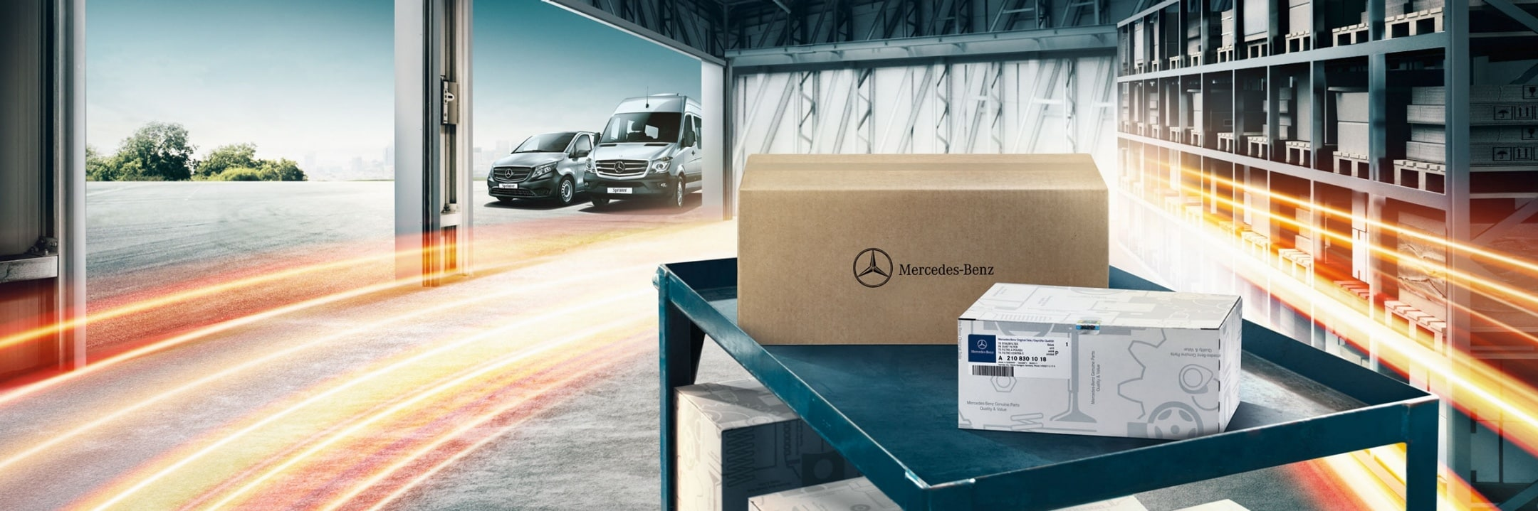 Mercedes-Benz GenuineParts.