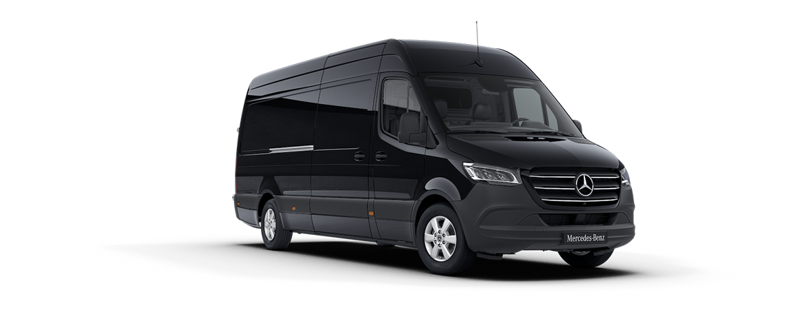 Sprinter Panel Van, jet black