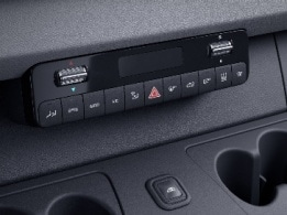Sprinter Panel Van, THERMOTRONIC automatic climate control