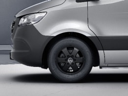 Sprinter Panel Van, 40.6-cm (16-inch) 6-spoke light-alloy wheels, painted black