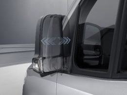 Sprinter Panel Van, electrically-folding exterior mirrors