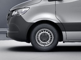 Sprinter Panel Van, 40.6-cm (16-inch) steel wheels