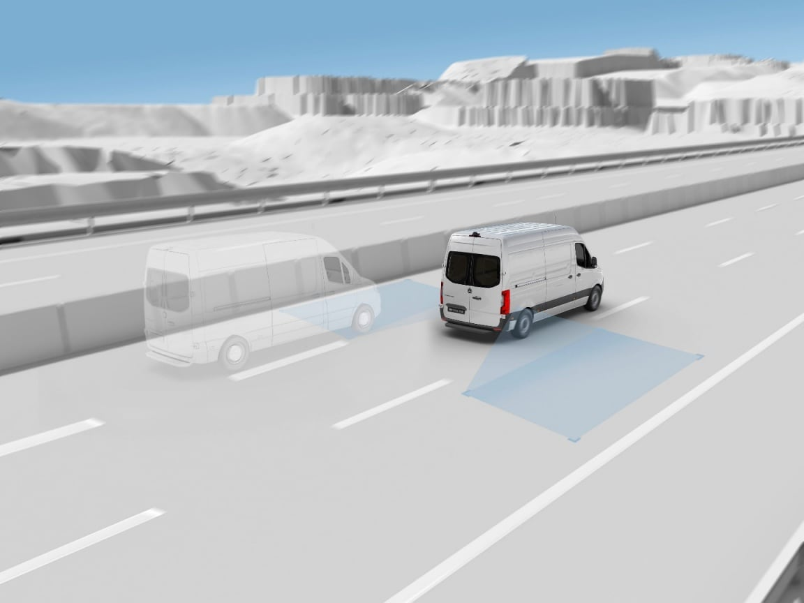 Sprinter Panel Van, Blind Spot Assist